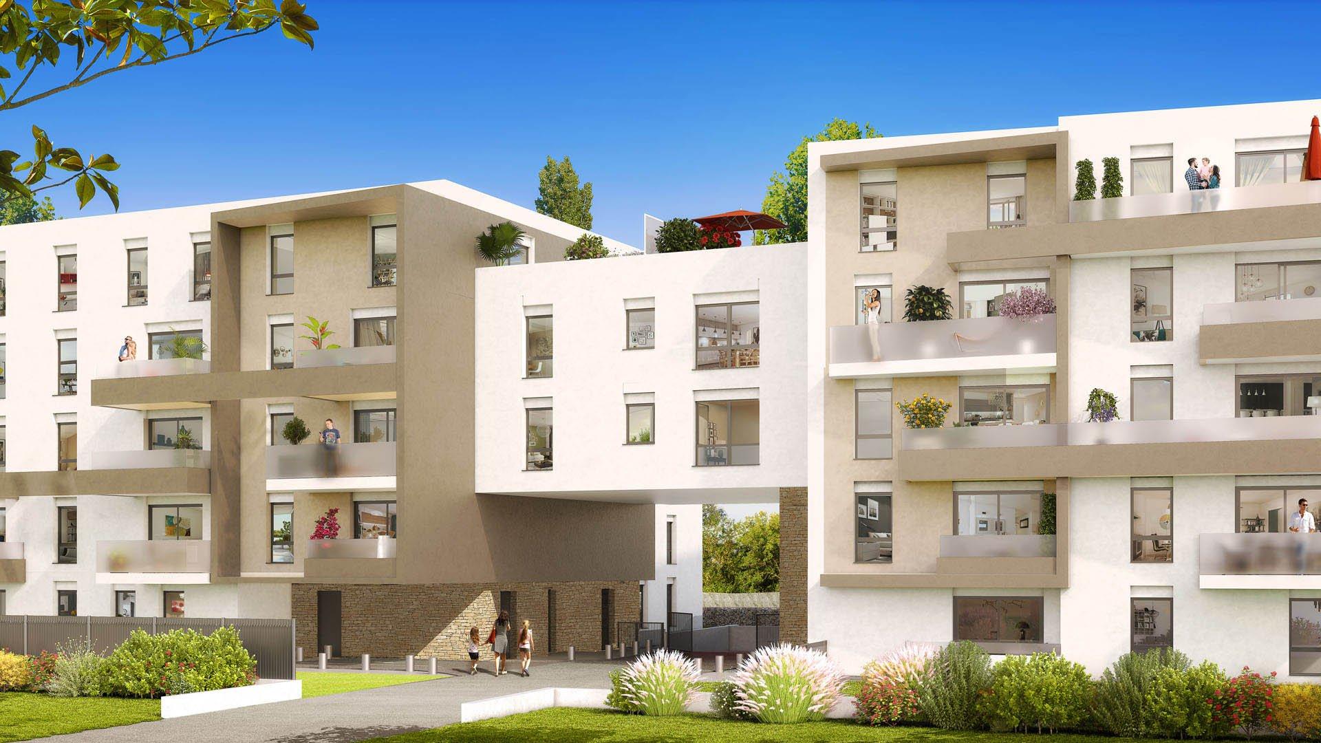 Programme Immeuble - Castelnau-le-Lez