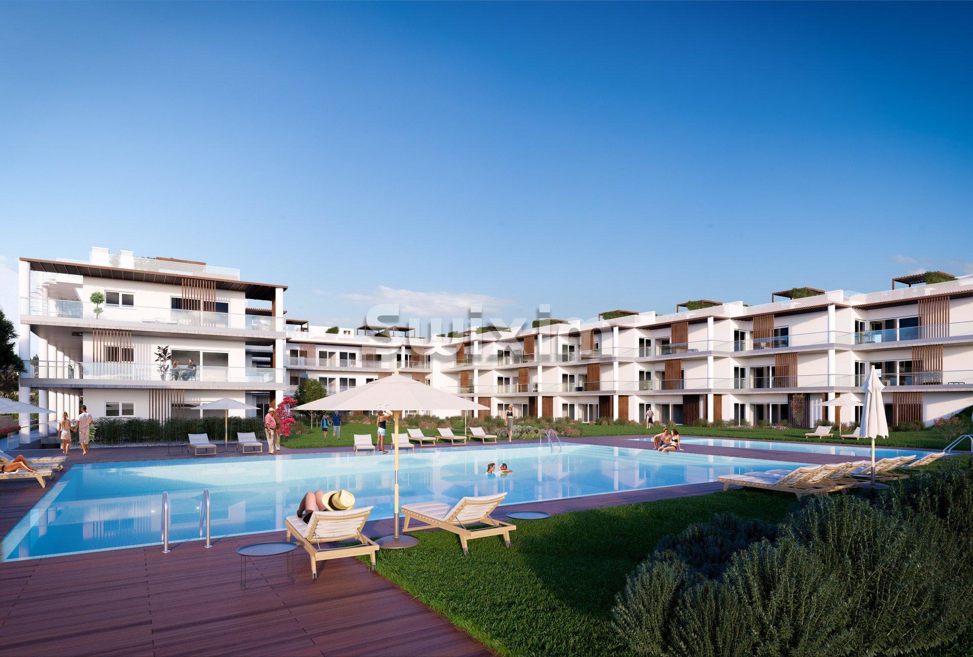 Apartamento T2S com vista mar