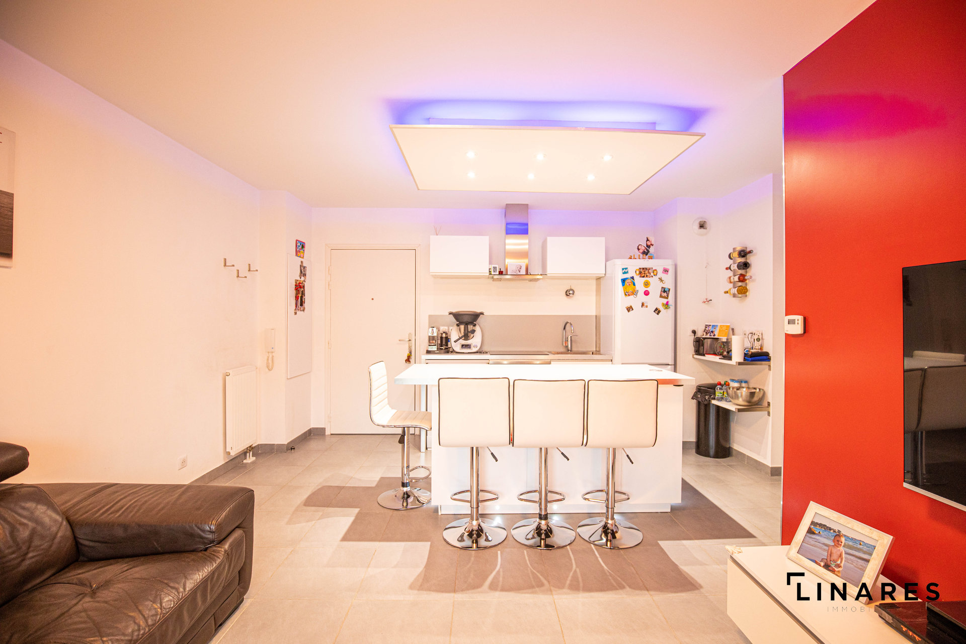 Velux, cucina a isola