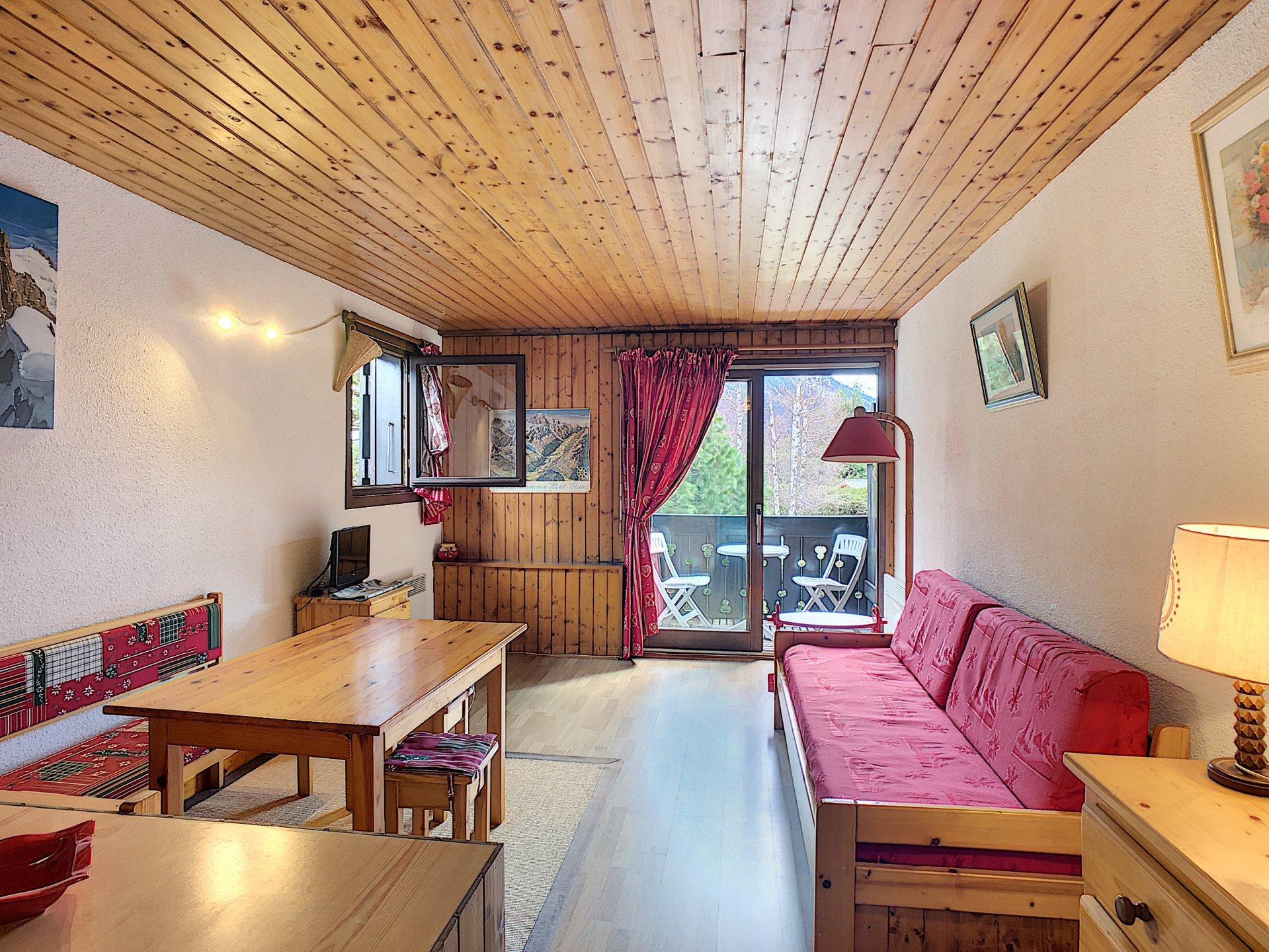 1 bedroom apartment, Chamonix Les Praz