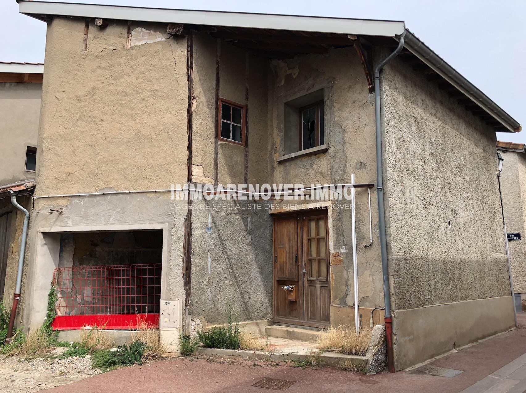 Sathonay village, maison à rénover