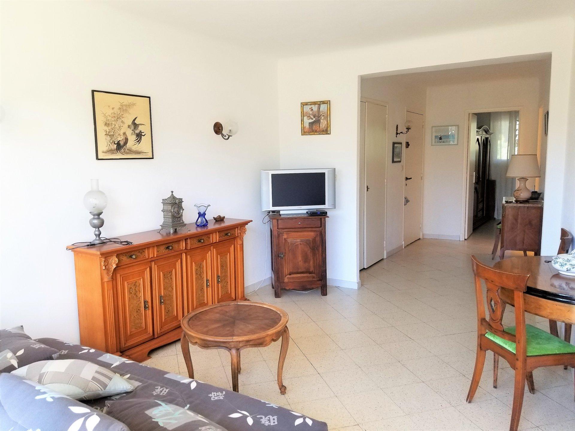 Cannes, Picaud, 1 bedroom apartment, terrace.