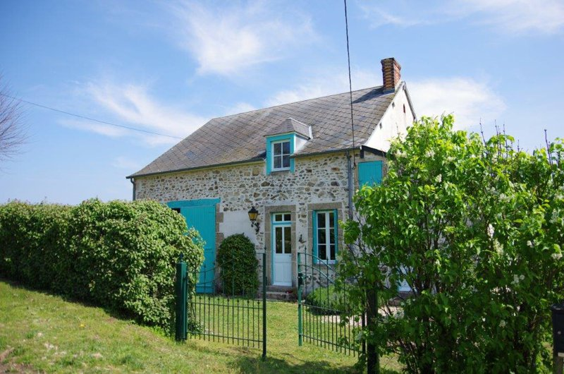 Farmhouse with 1.29 acres for sale in the Nièvre in the Morvan