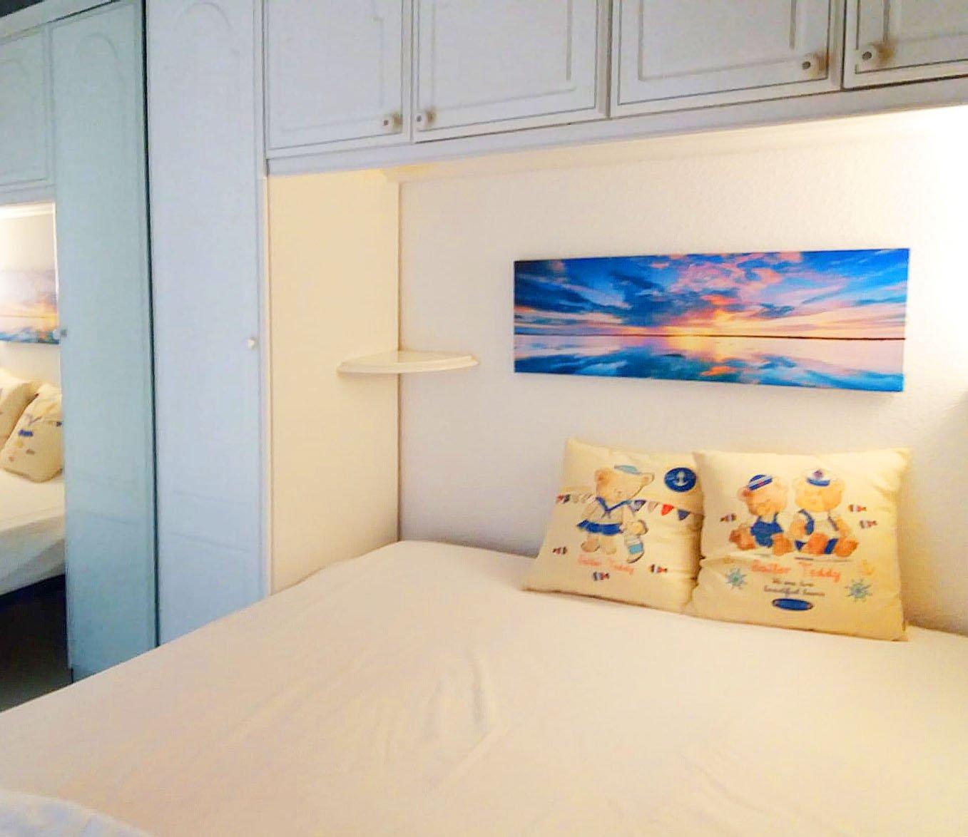 Wunderschöner Meerblick aus dieser 2-Zimmer-Wohnung inmittelbar am * BM B8