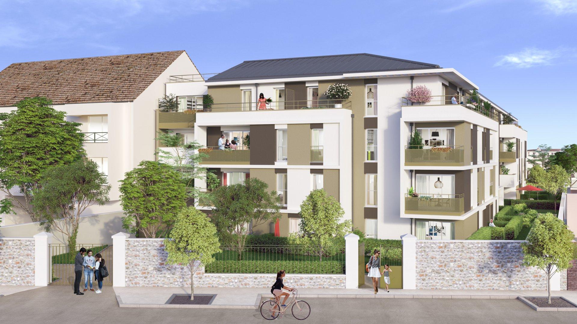 Programme Immeuble - Dammarie-les-Lys