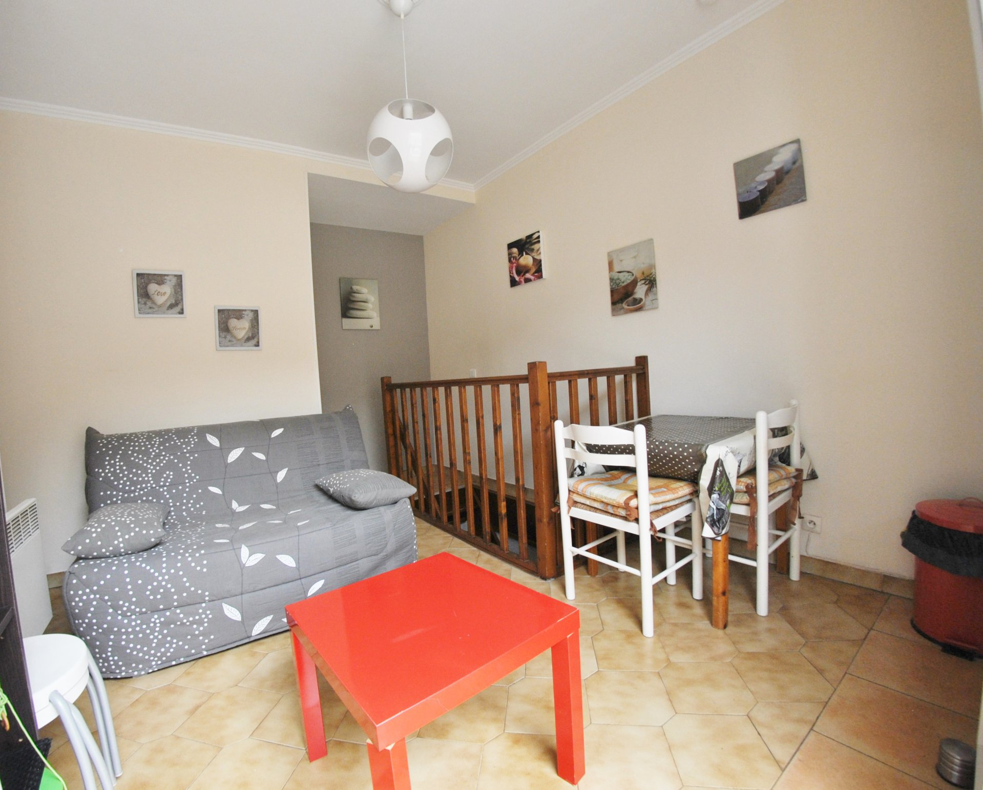 STUDENT rental : Cosy 1bedroom furnished with terrace and Wi-Fi