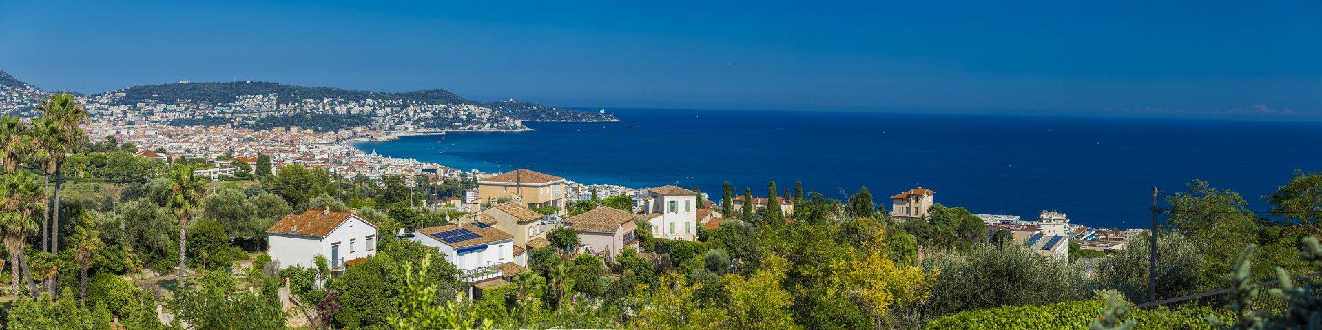 Nice  3 Pièces  vue Mer avec Parking et Piscine