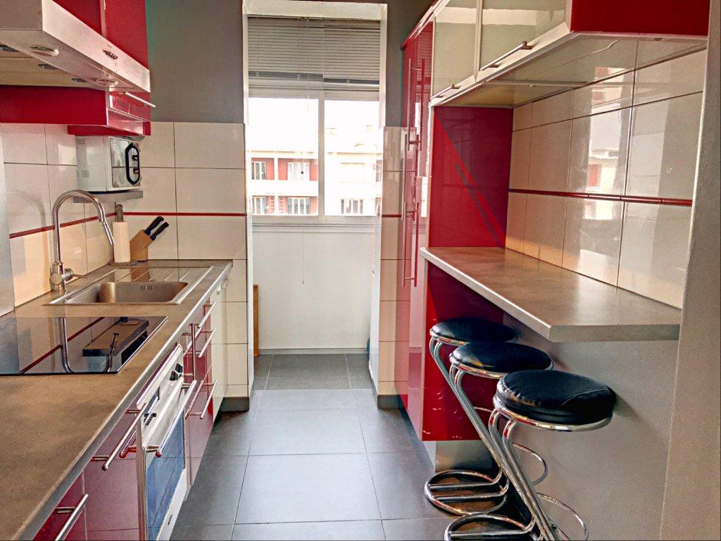 Achat Appartement, Surface de 63 m²/ Total carrez : 63 m², 3 pièces, Villeurbanne (69100)