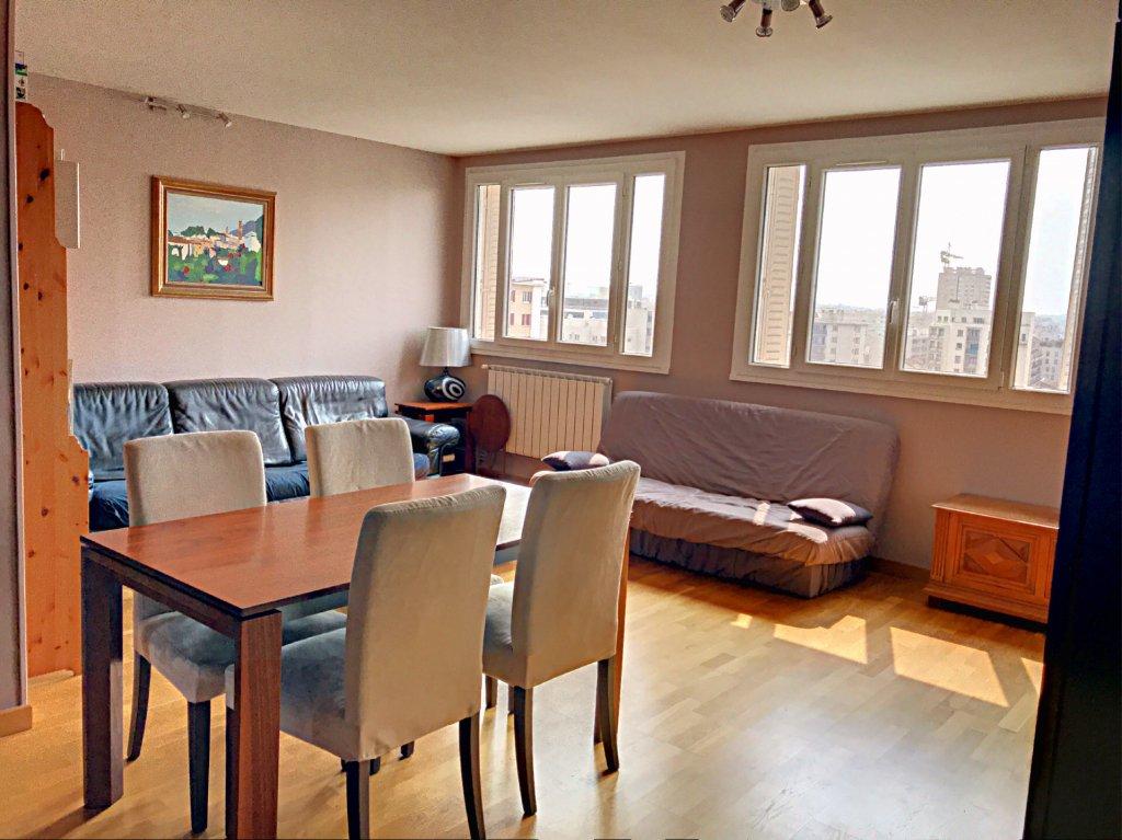 Achat Appartement Surface de 63 m²/ Total carrez : 63 m², 3 pièces, Villeurbanne (69100)