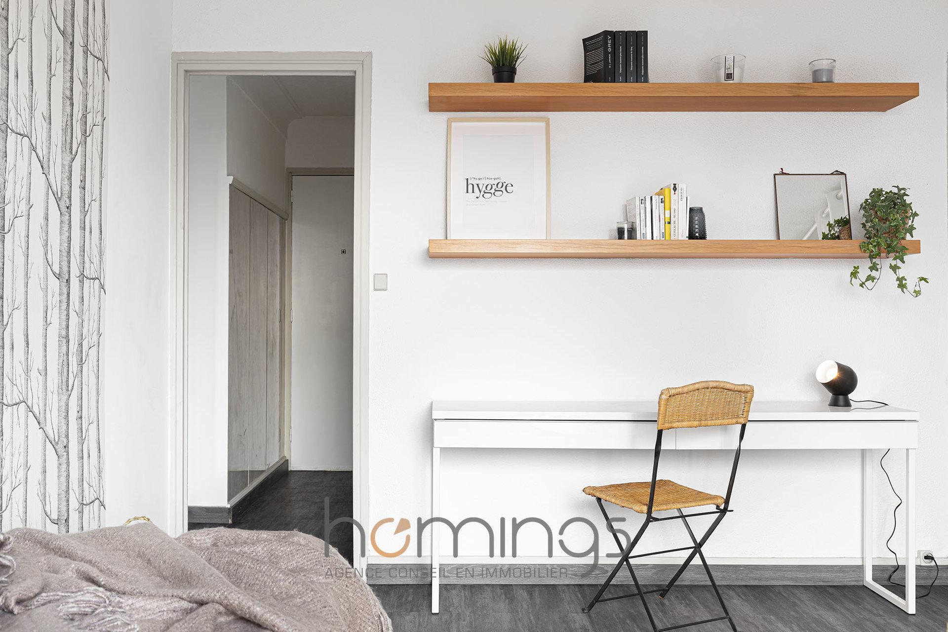 Loué par notre agence - Studio meublé avec terrasse St Nizier