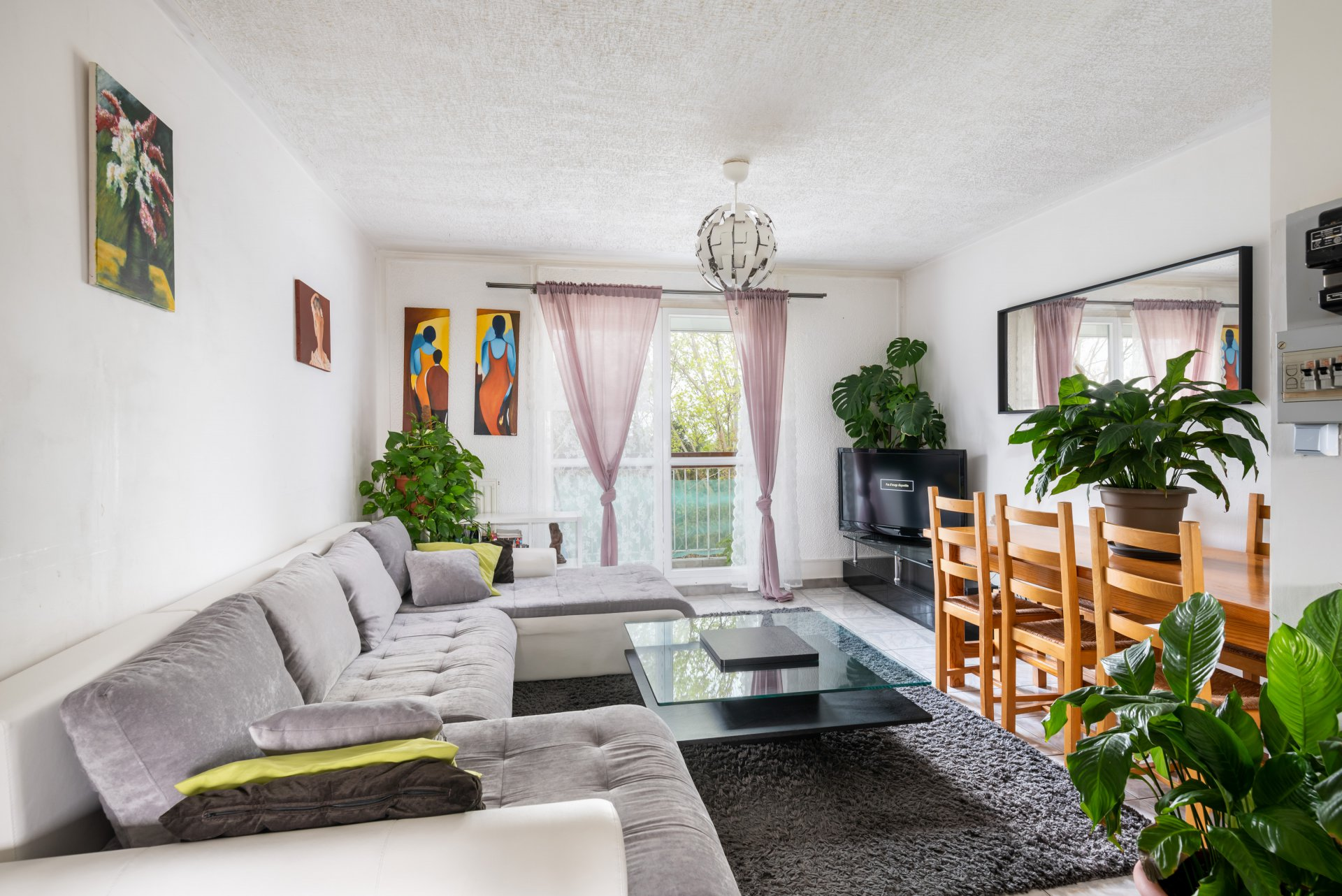 St Fons - T4 76m², cave et place parking