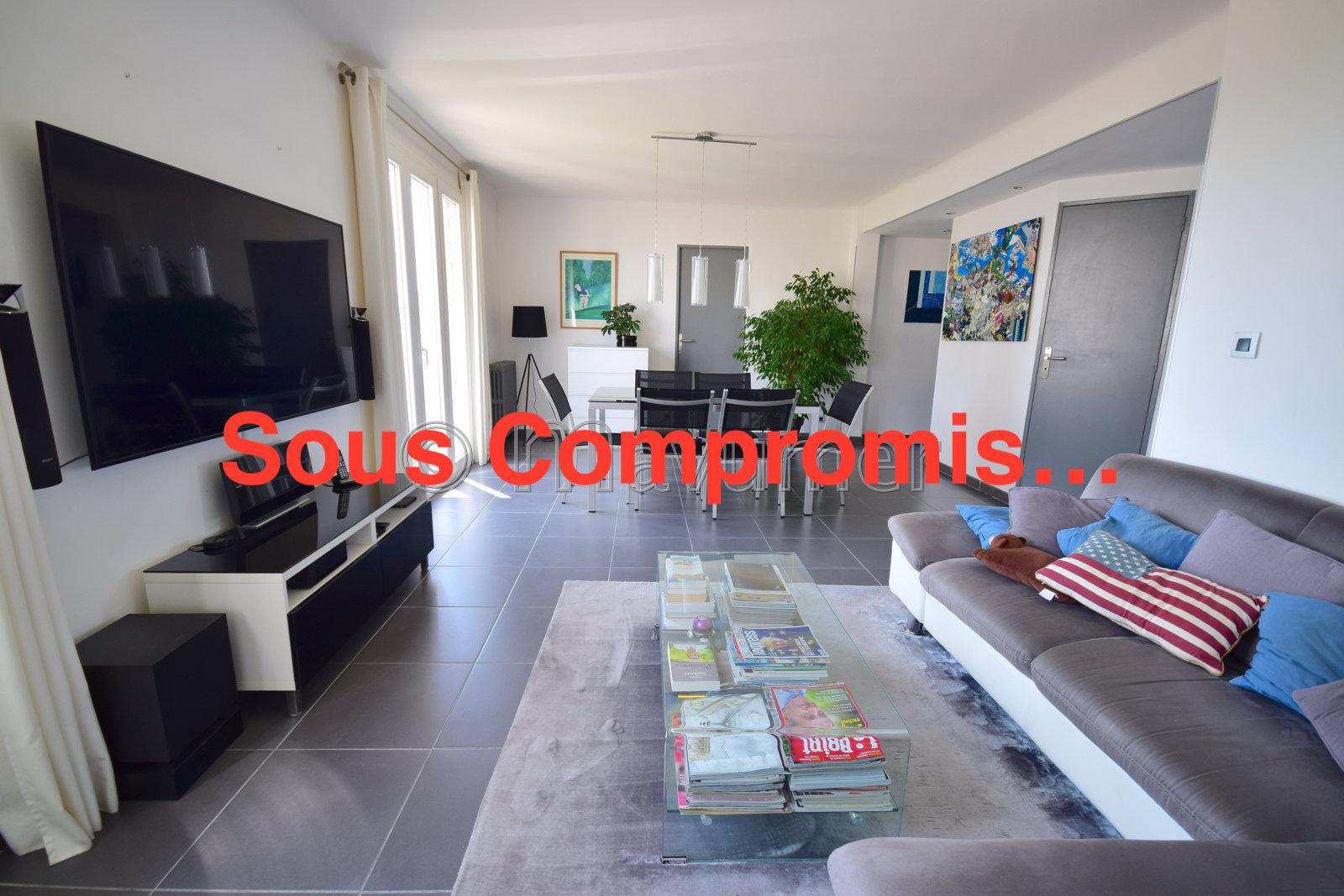 Appartement T4 vue dégagée Marseille 13009