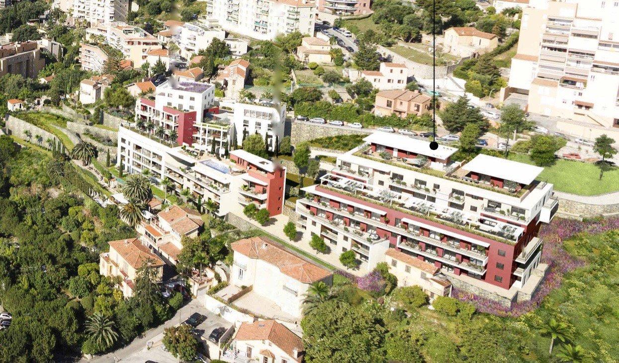 BEAUSOLEIL - Région PACA - Vente Appartement neuf - dernier étage - vue mer