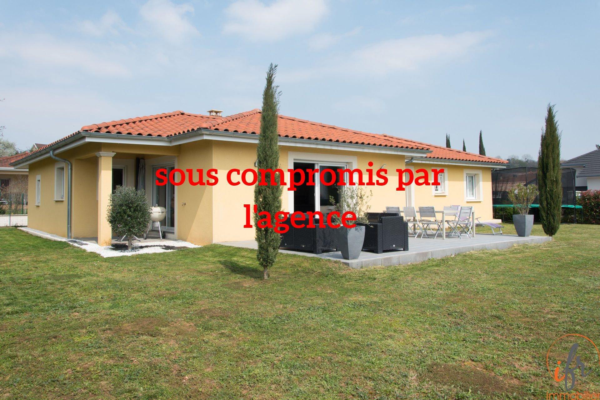 Villa plain-pied Chamagnieu 20mn LYON