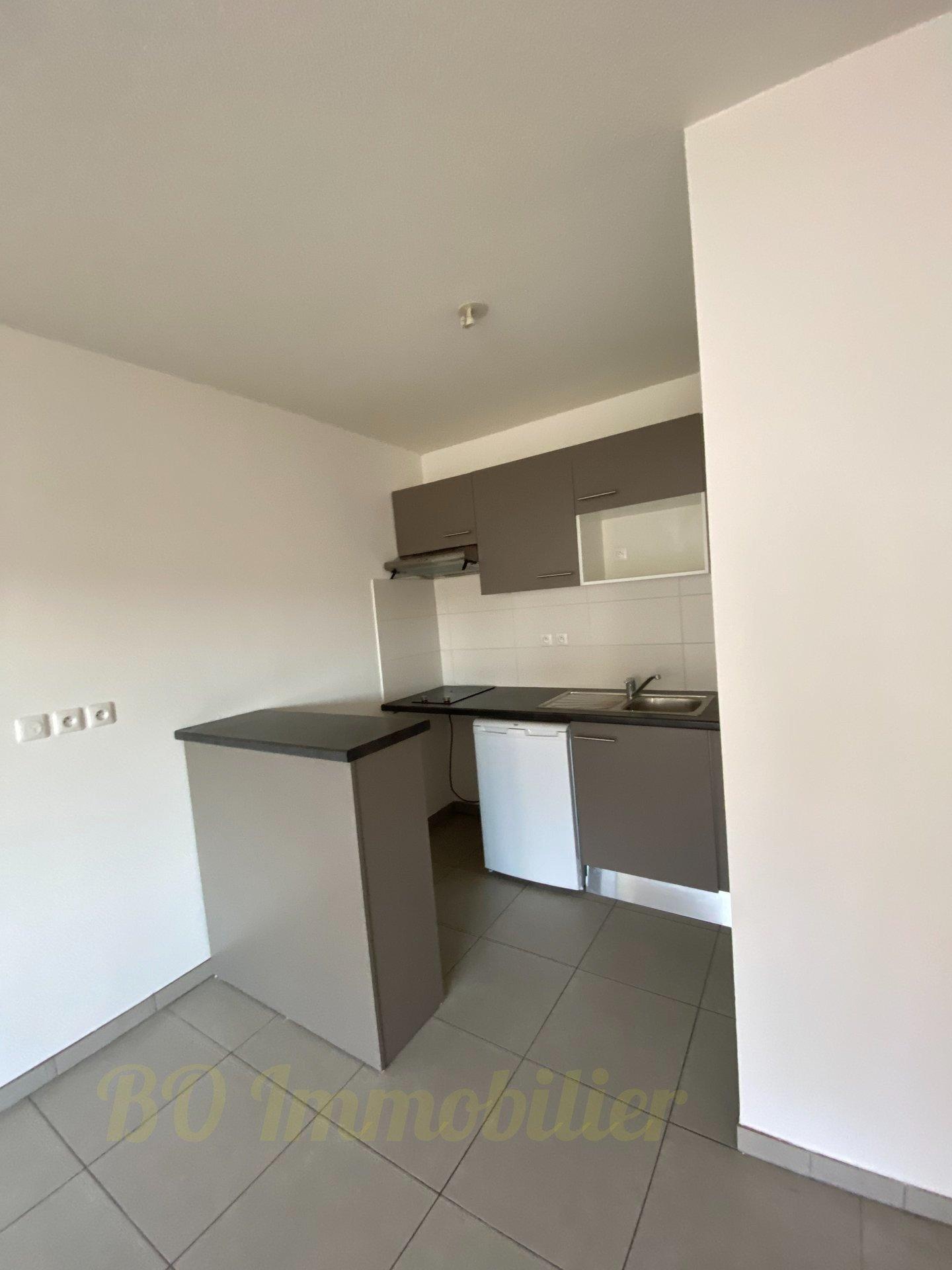 Appartement 2p de 40.50m² + terrasse de 13.40m² + 1 place de parking