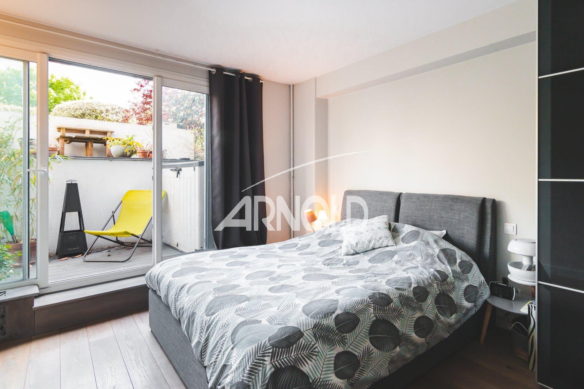 4 chambres + jardin privatif -