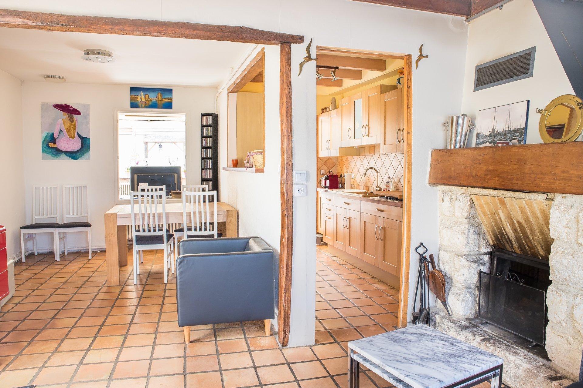 Maison  60m² + studio sur terrain de 400m²
