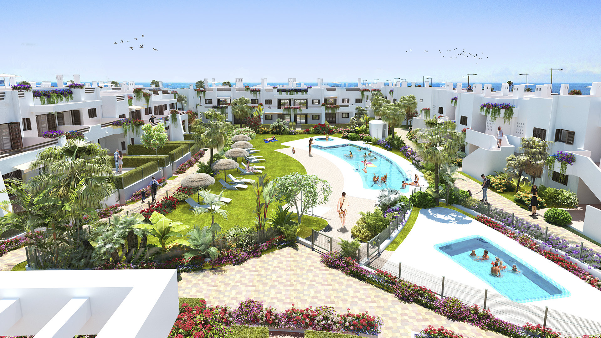 New development - beach front