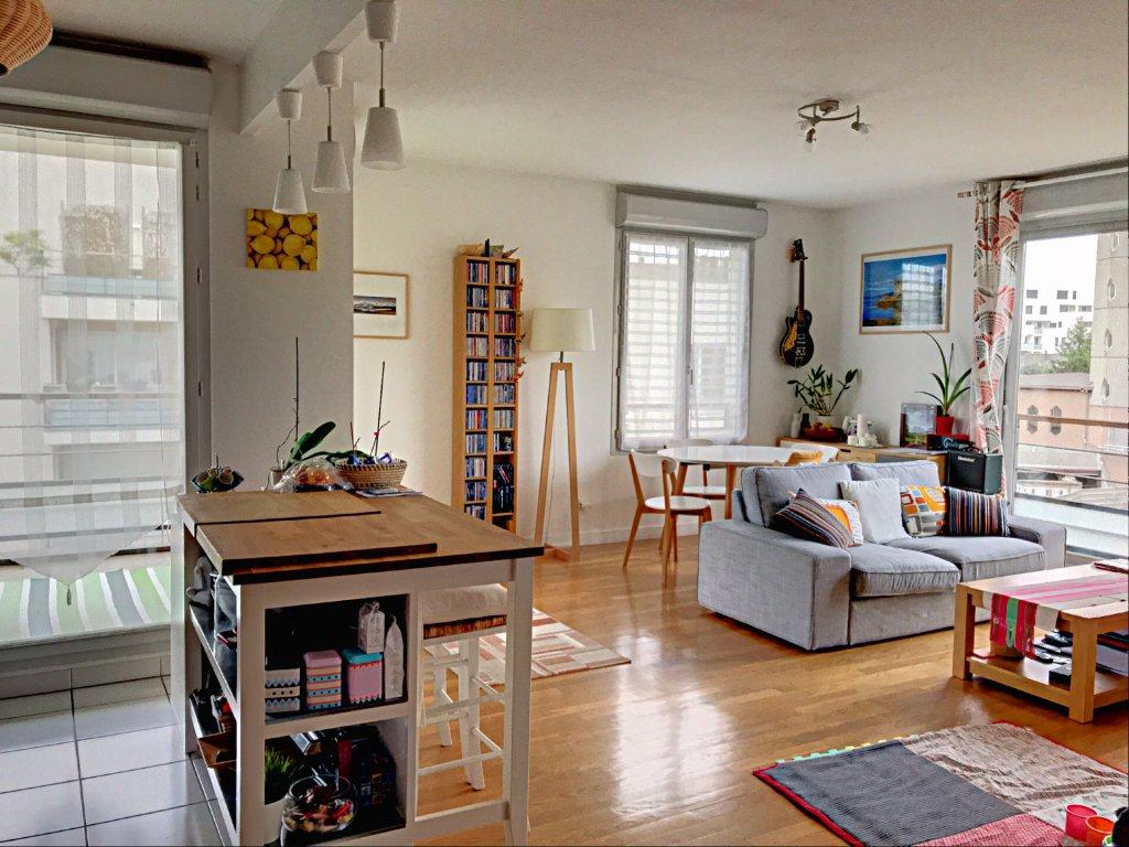 Achat Appartement Surface de 70.04 m²/ Total carrez : 70 m², 3 pièces, Lyon 3ème (69003)