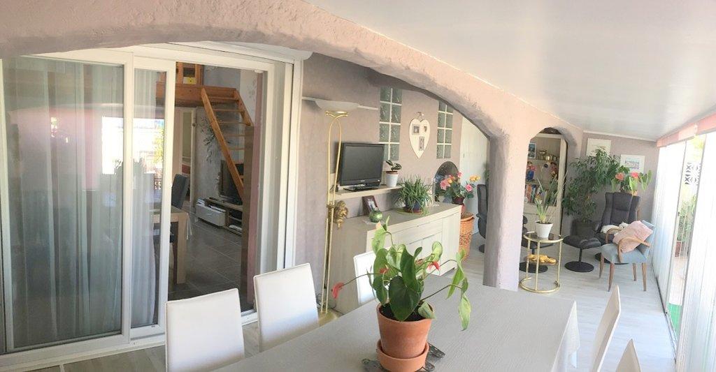 Villa T4 plain-pied avec parking, cellier et jardin à PALAVAS - Fort potentiel