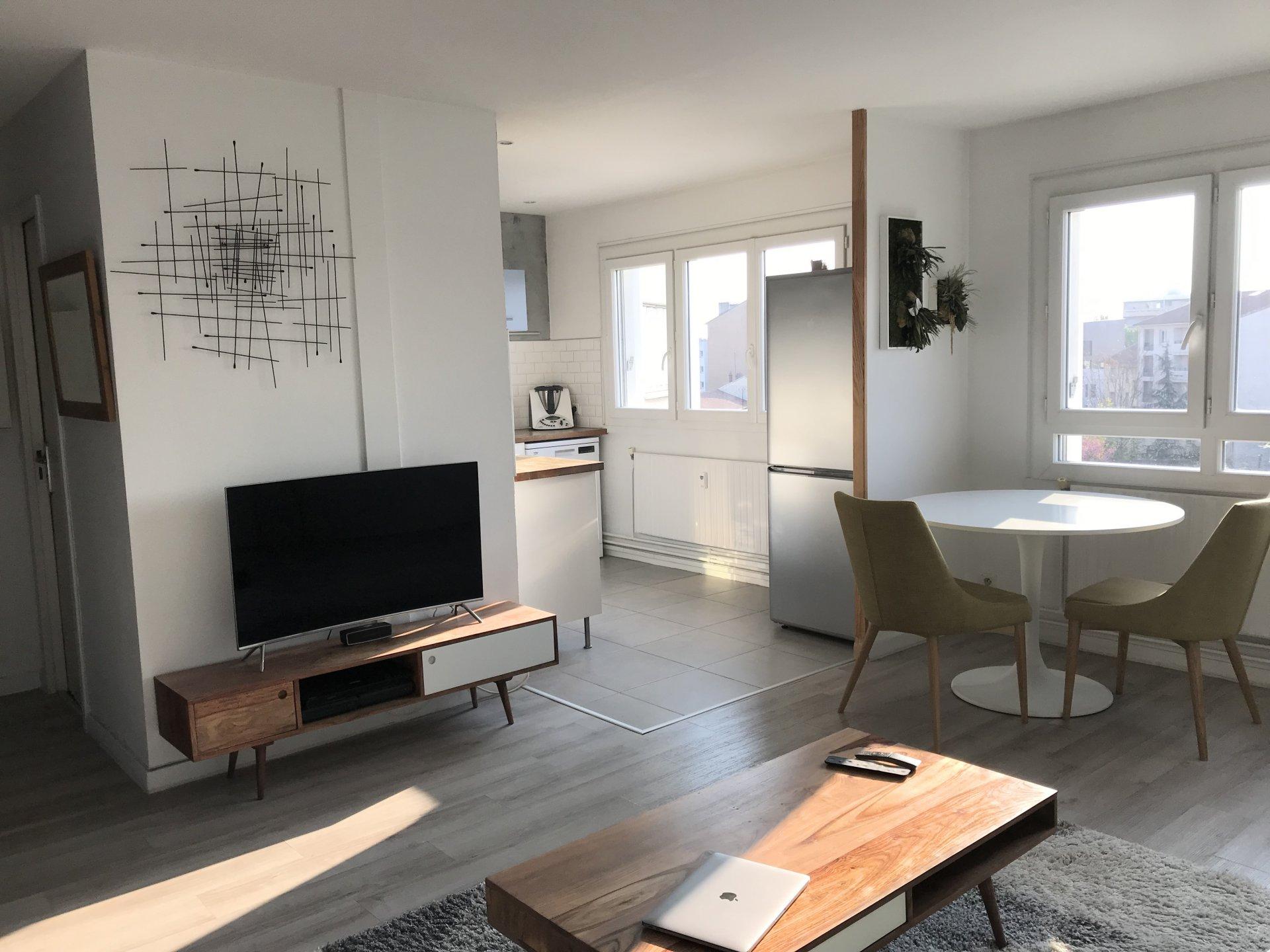Achat Appartement Surface de 46 m²/ Total carrez : 46 m², 2 pièces, Lyon 7ème (69007)