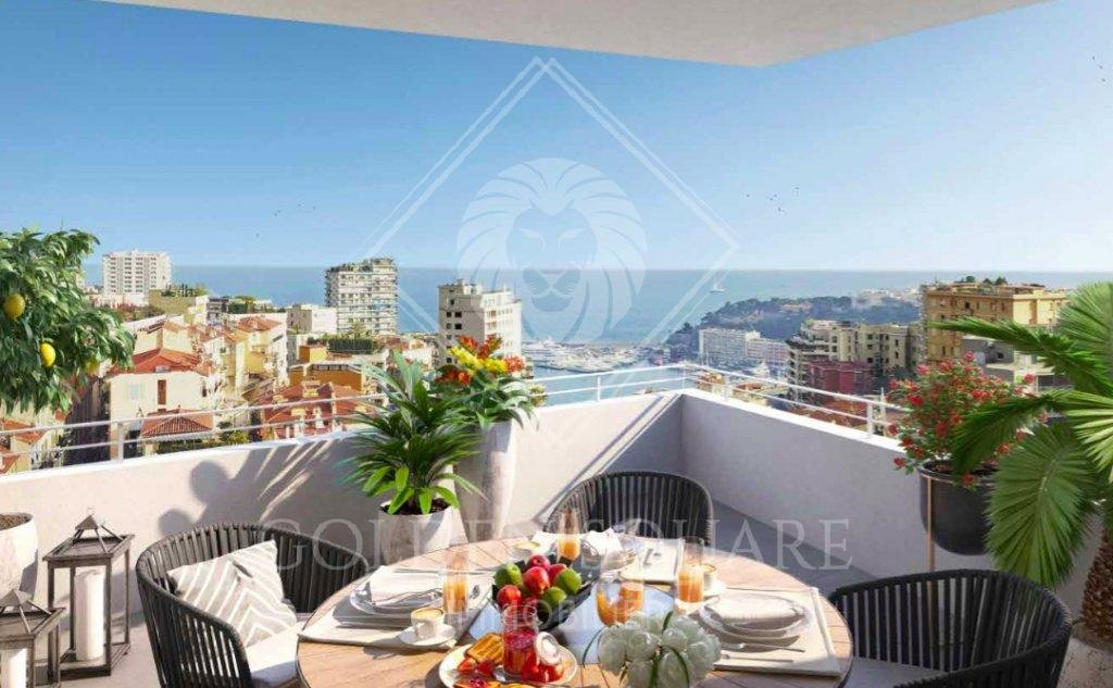 BEAUSOLEIL - 3 BEDROOM NEW  - SEAVIEW ON MONACO