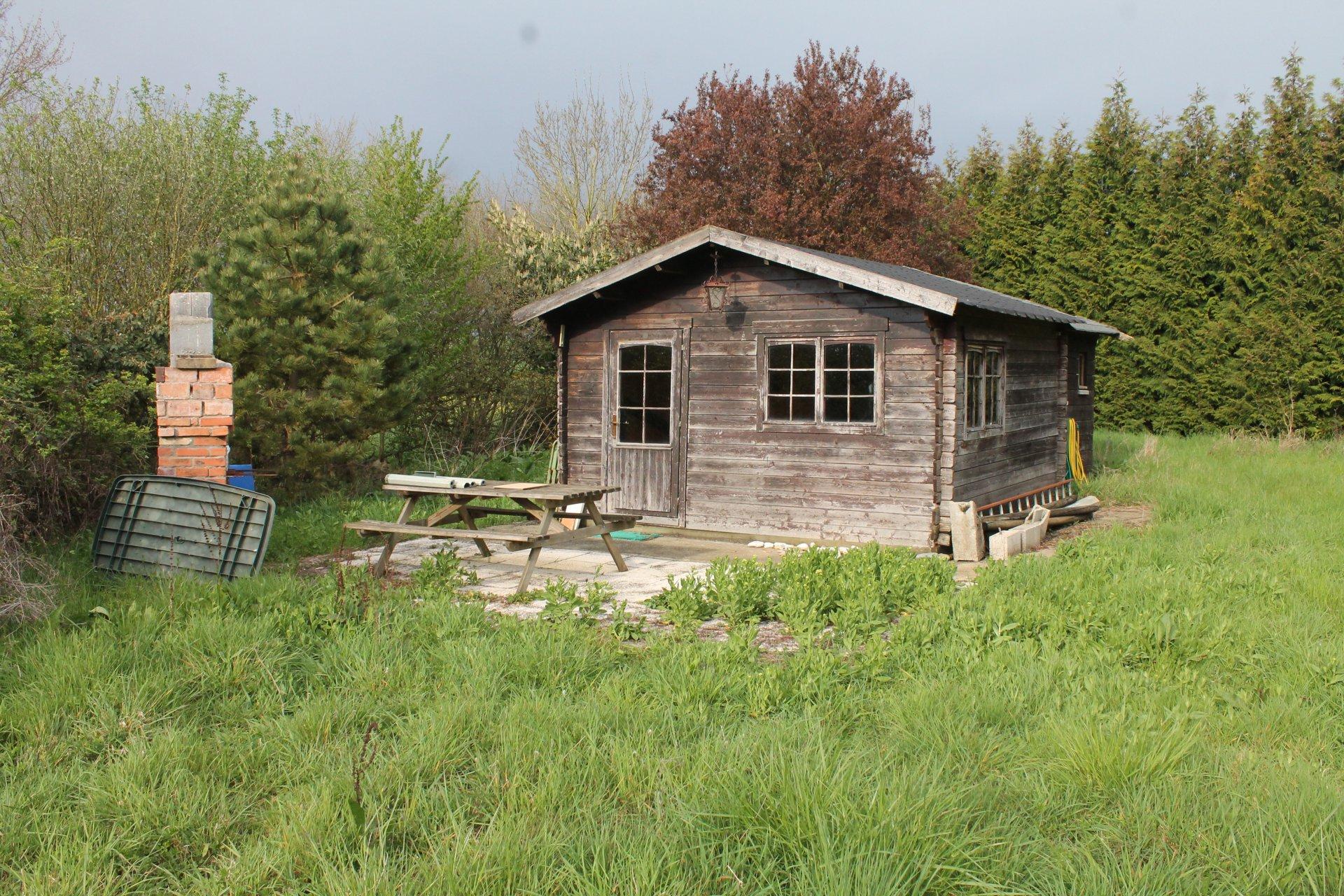Maison+chalet+garage 85 m²+ mare
