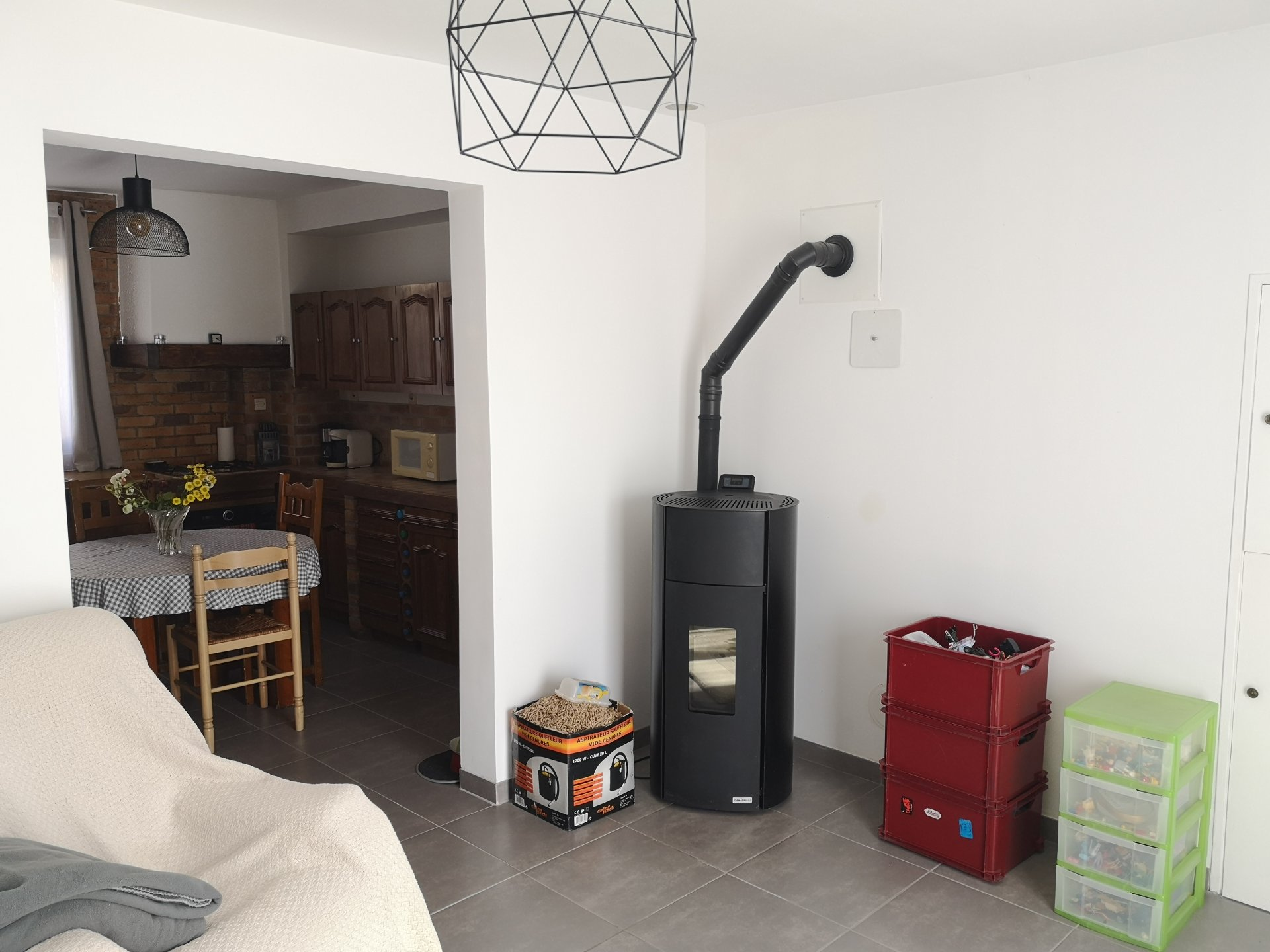 Un appartement F4 à Magenta