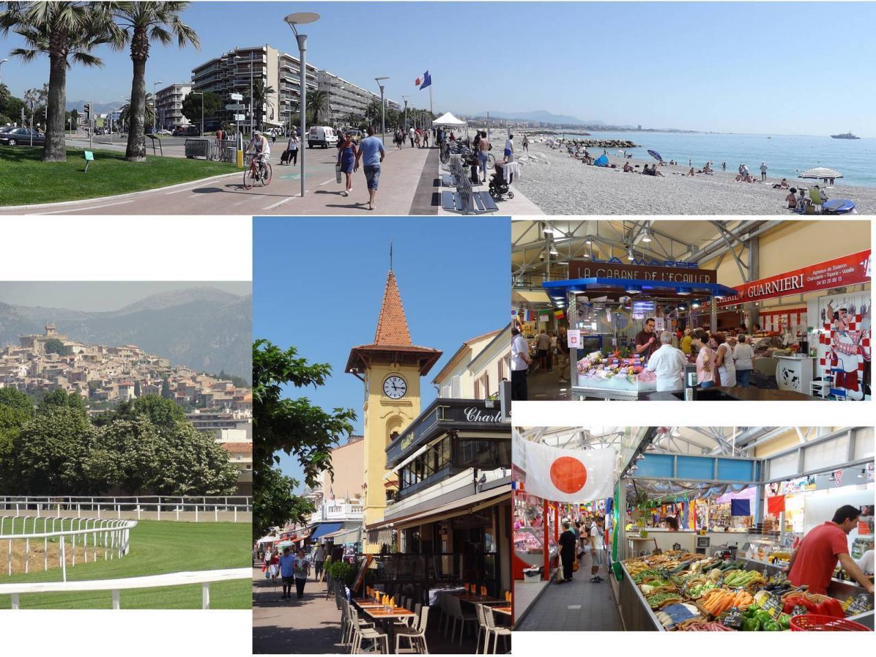 Location saisonnière - STUDIO 27 M² à Cagnes/mer