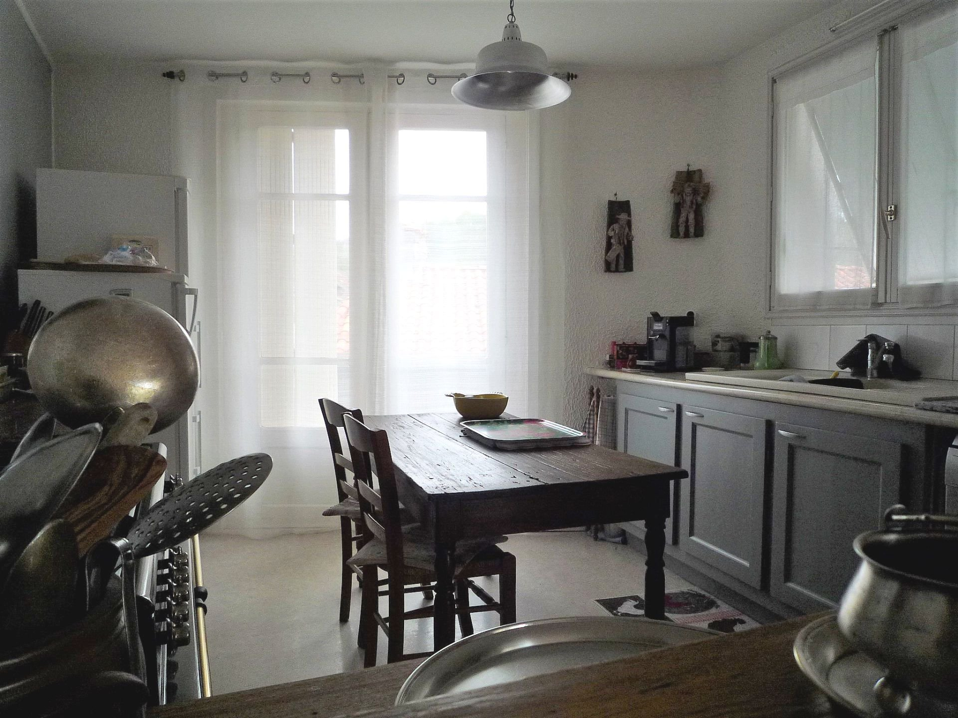 Appartement spacieux et coquet