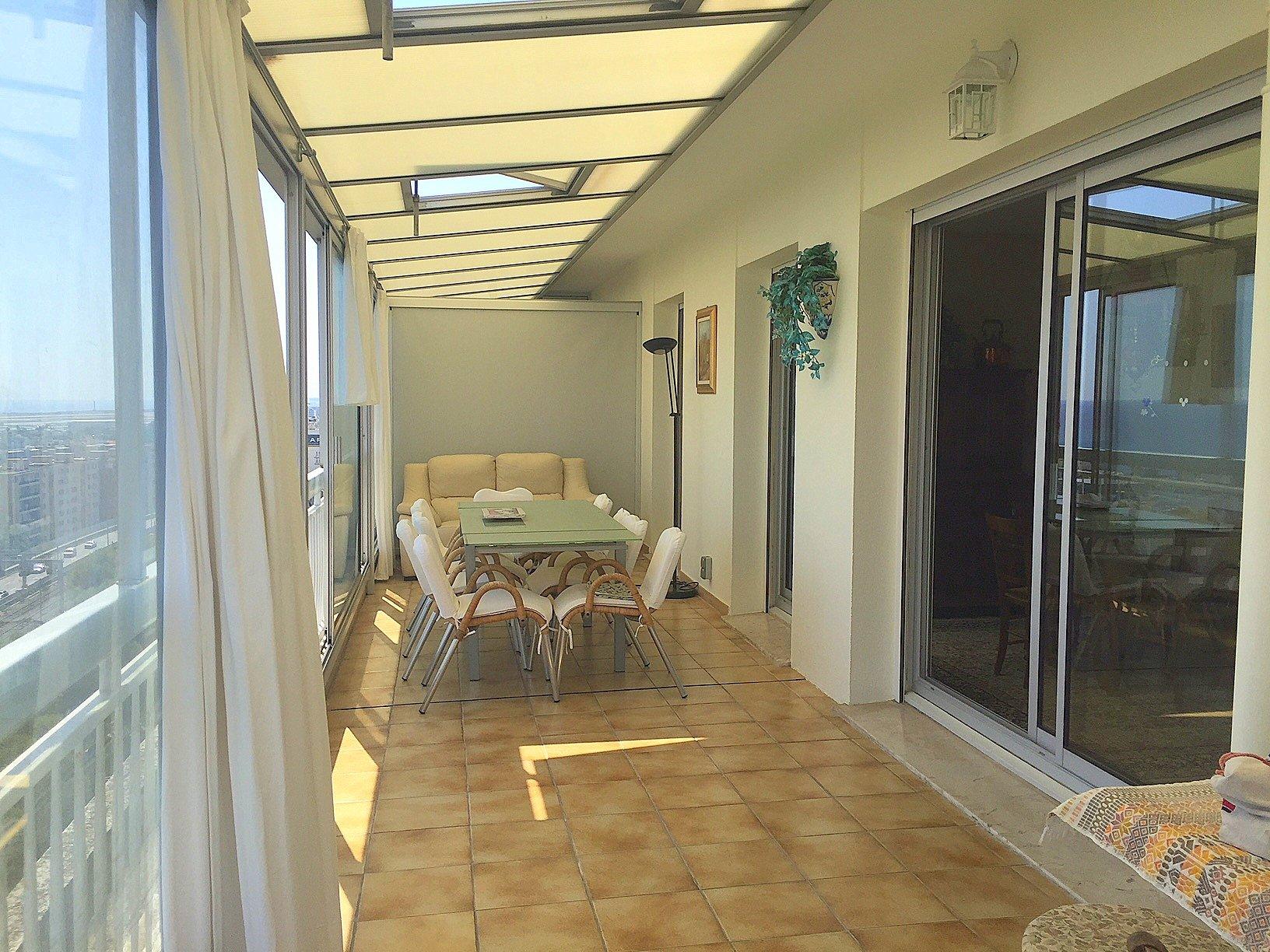 Nice Bas Fabron Toit terrasse 4p veranda