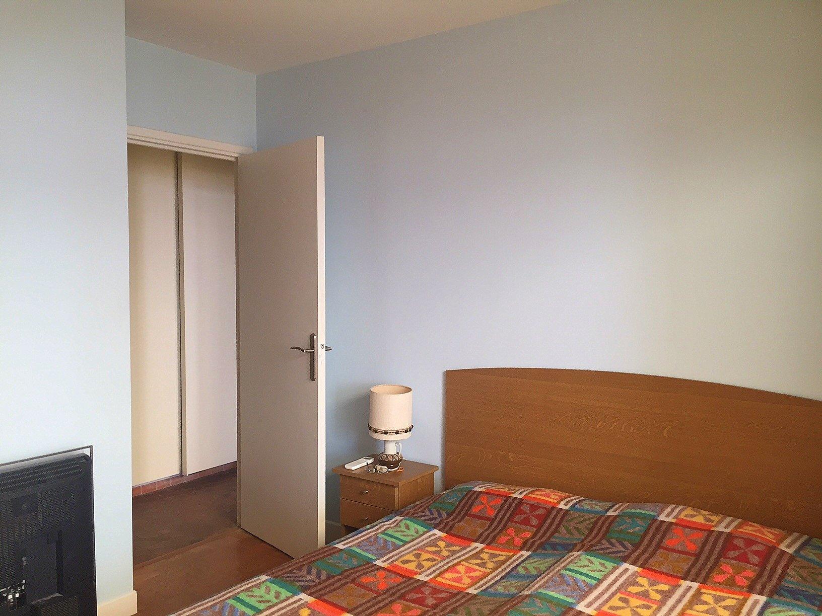 Nice Bas Fabron Toit terrasse 4p chambre 2