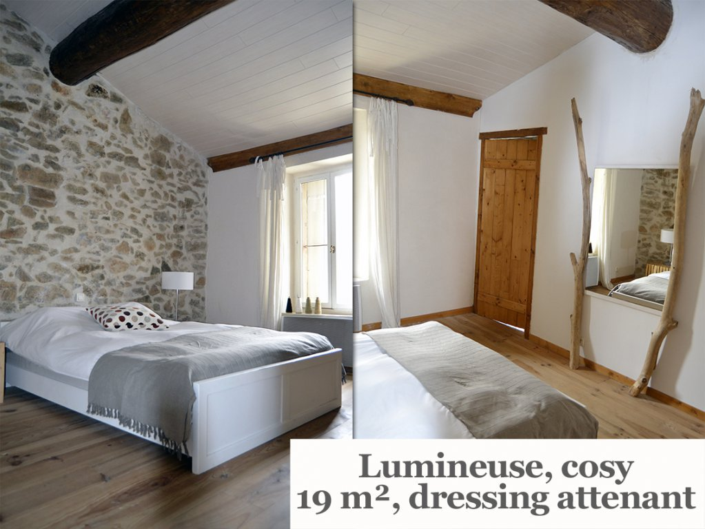 Loft 150 m² + jardin piscine et garage