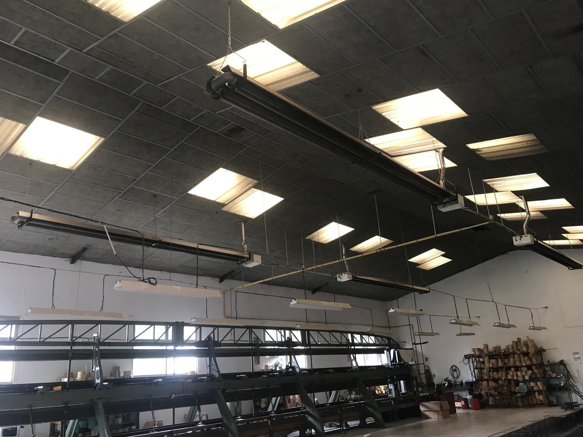 Bâtiment type hangar