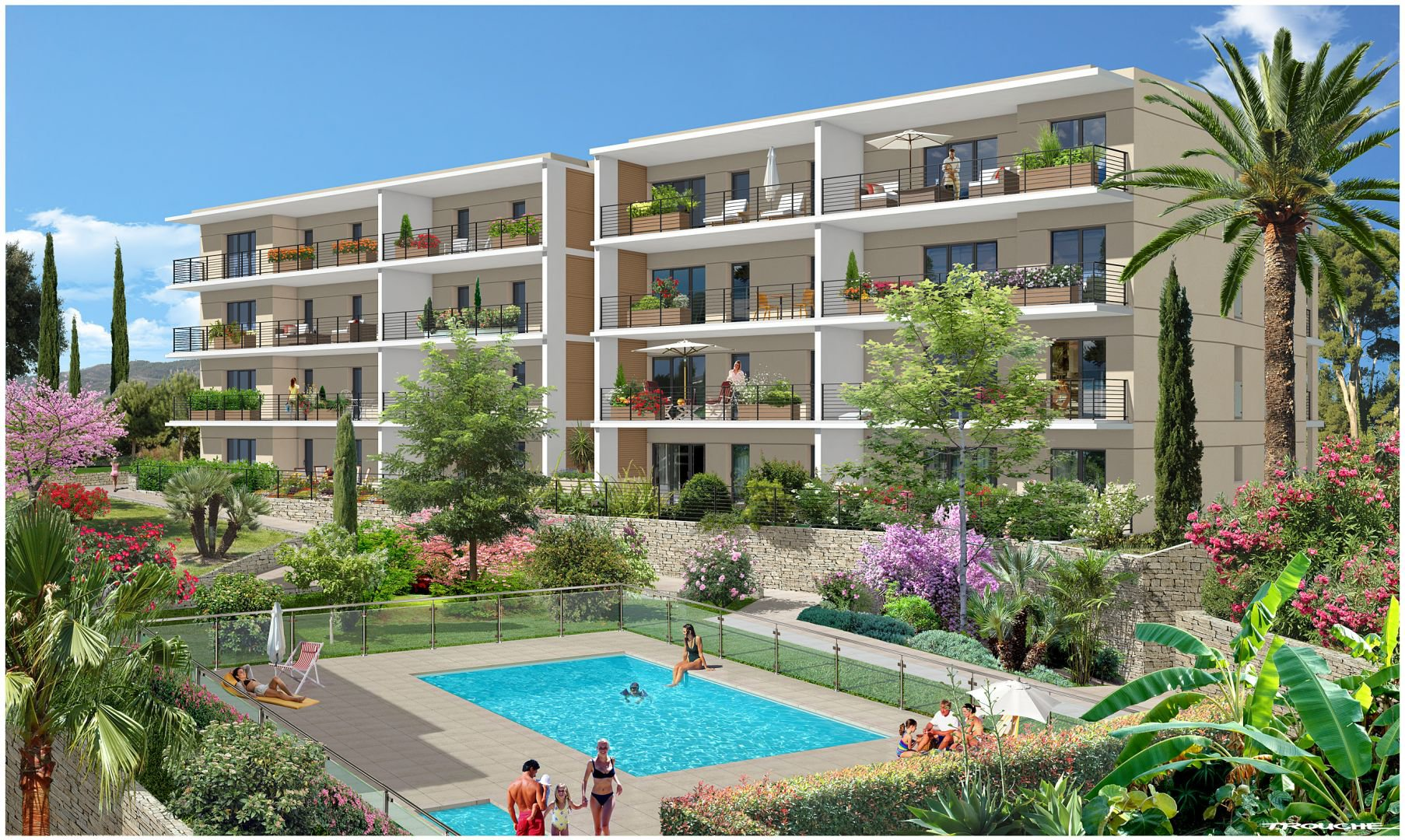 New development in Vallauris