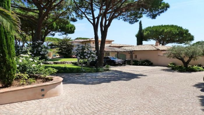 Seasonal rental Villa - Saint-Tropez Les Parcs