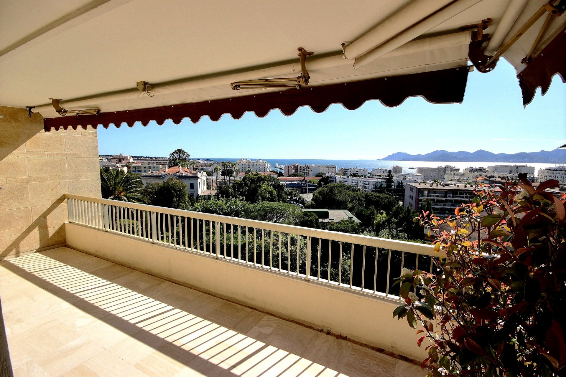 Cannes Basse Californie lägenhet med havsutsikt