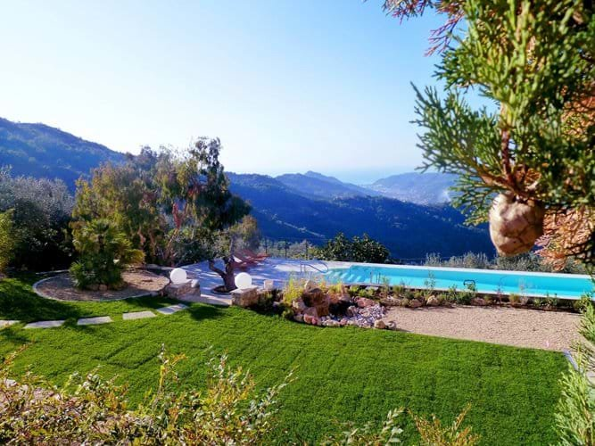 DOLCEACQUA, villa with sea and mountains view