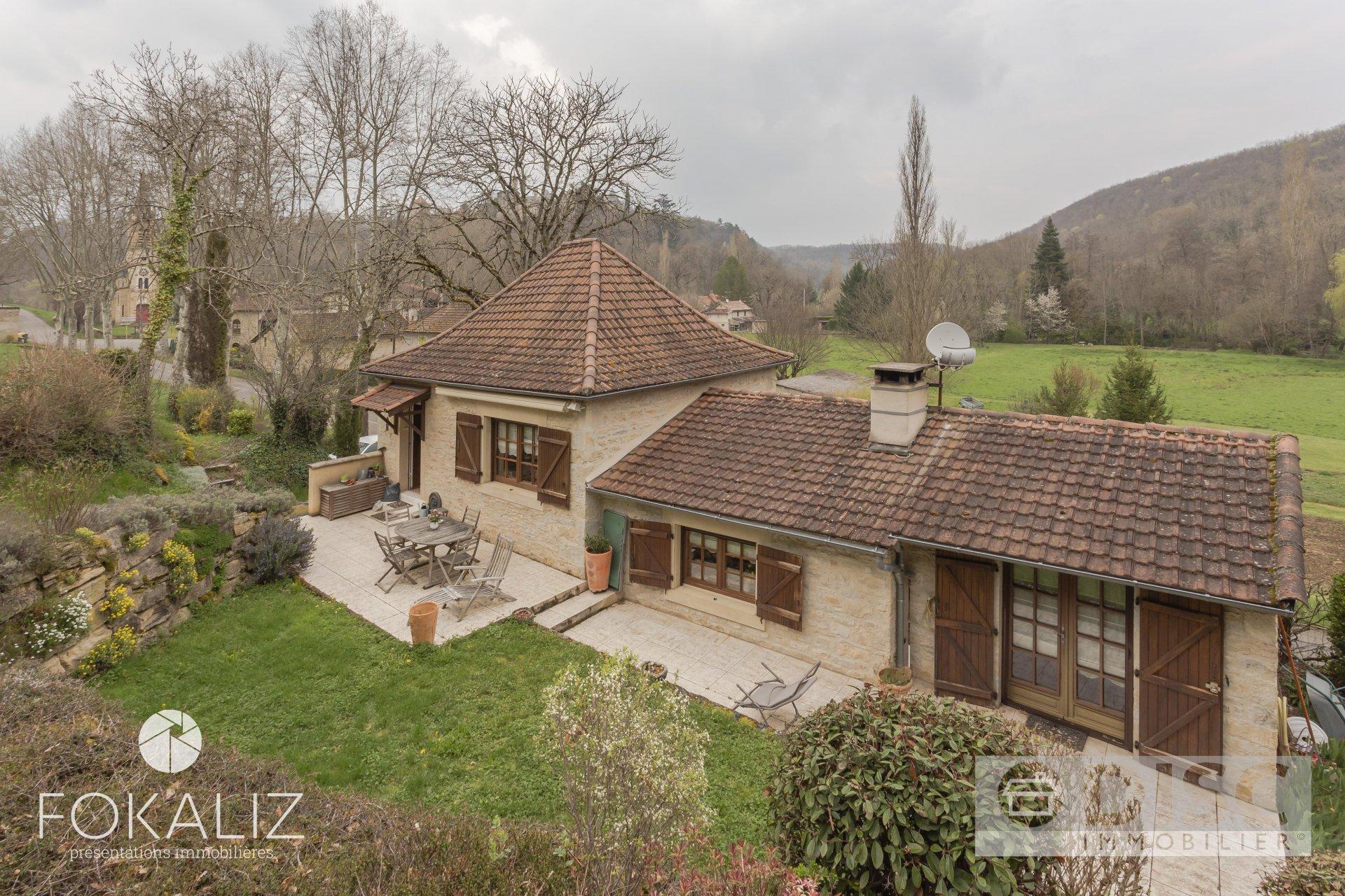 Maison comfortable avec jardin de 3000m²