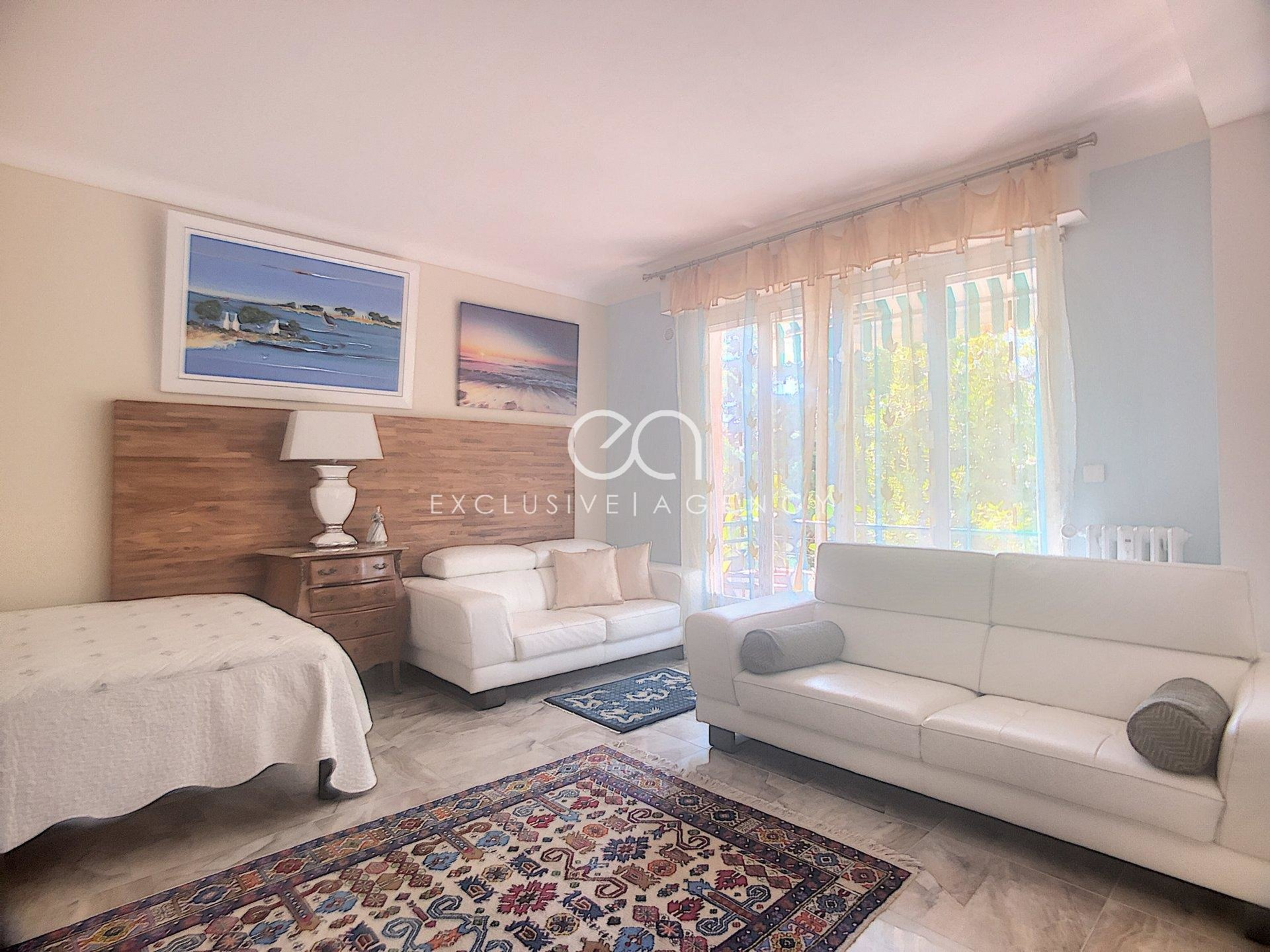 SOLE AGENT FOR SALE CANNES BASSE CALIFORNIE 2-BEDROOMED APARTMENT FOR 74SQM WITH TERRACE AND CELLAR
