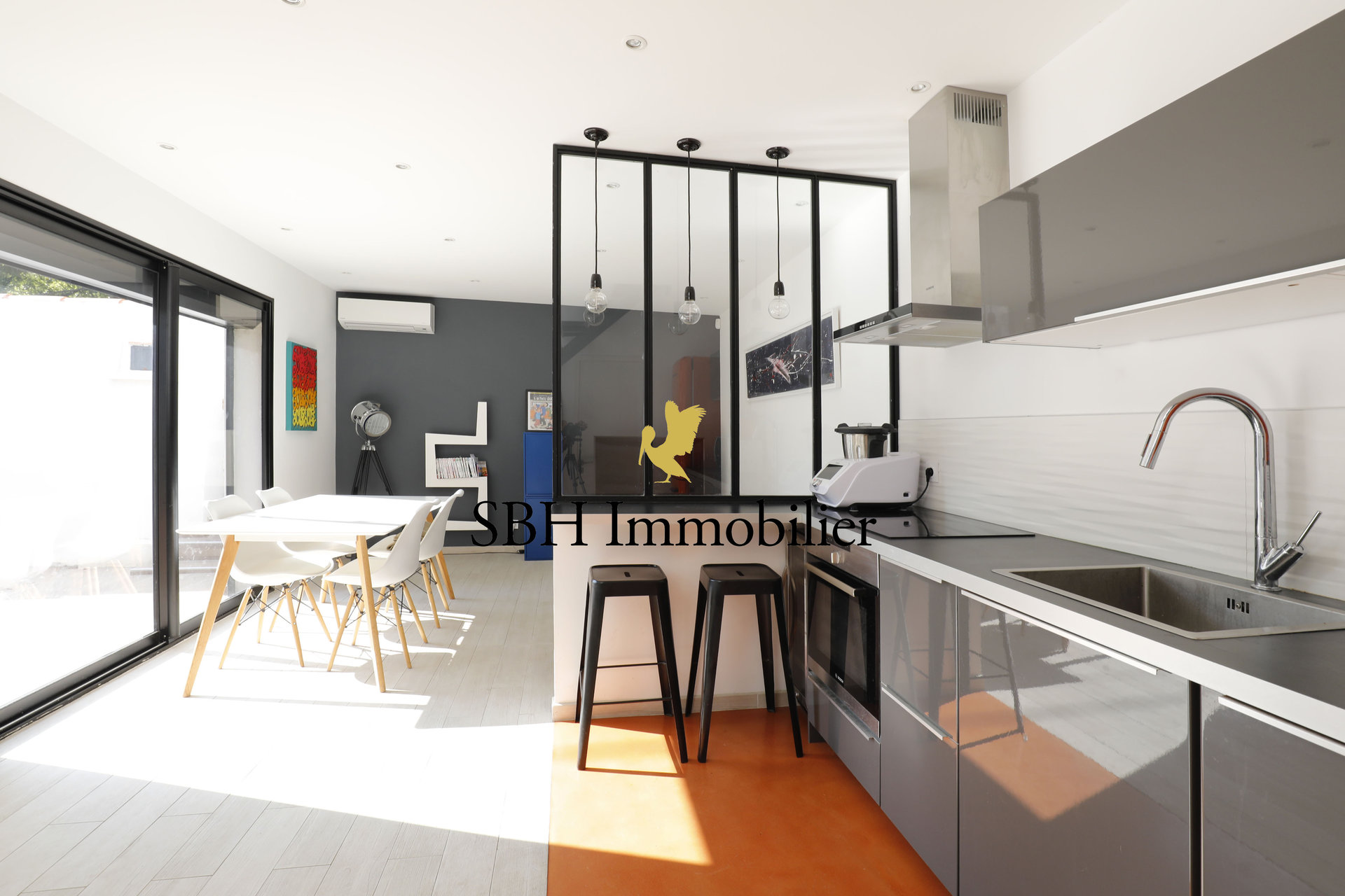 Superbe maison contemporaine avec jardin