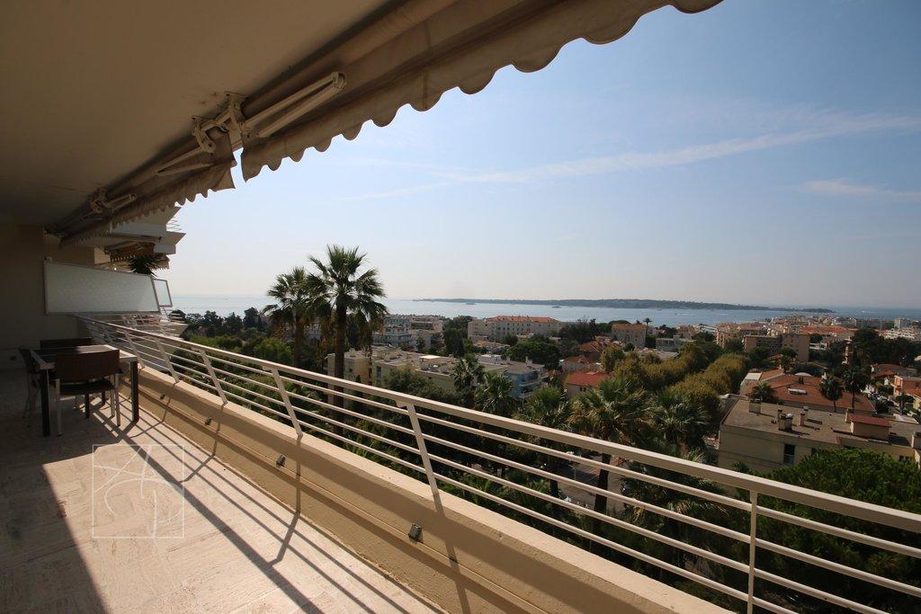 cannes basse californie appartement vue mer panoramique