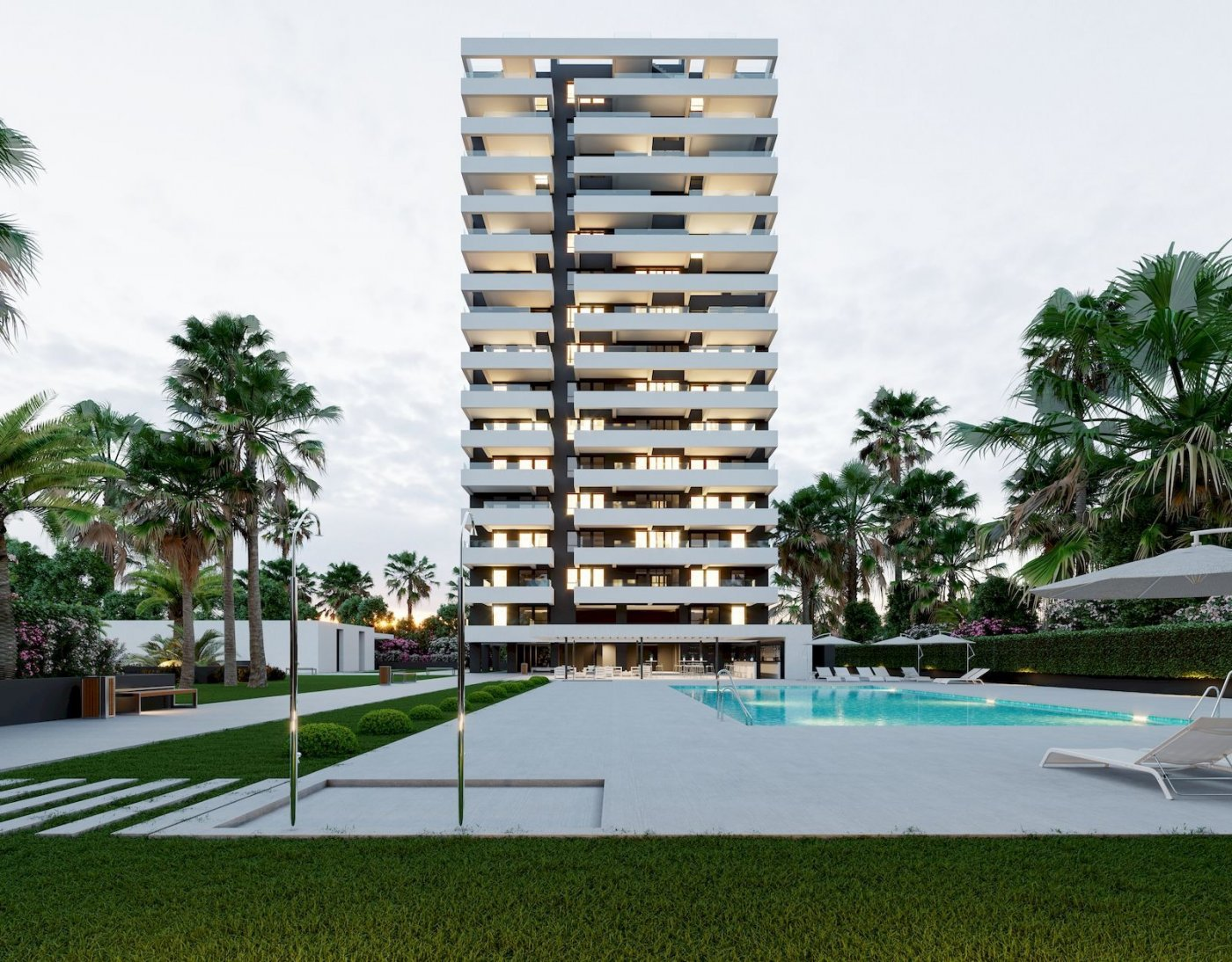 Brand new apartments, 400m from the beach
