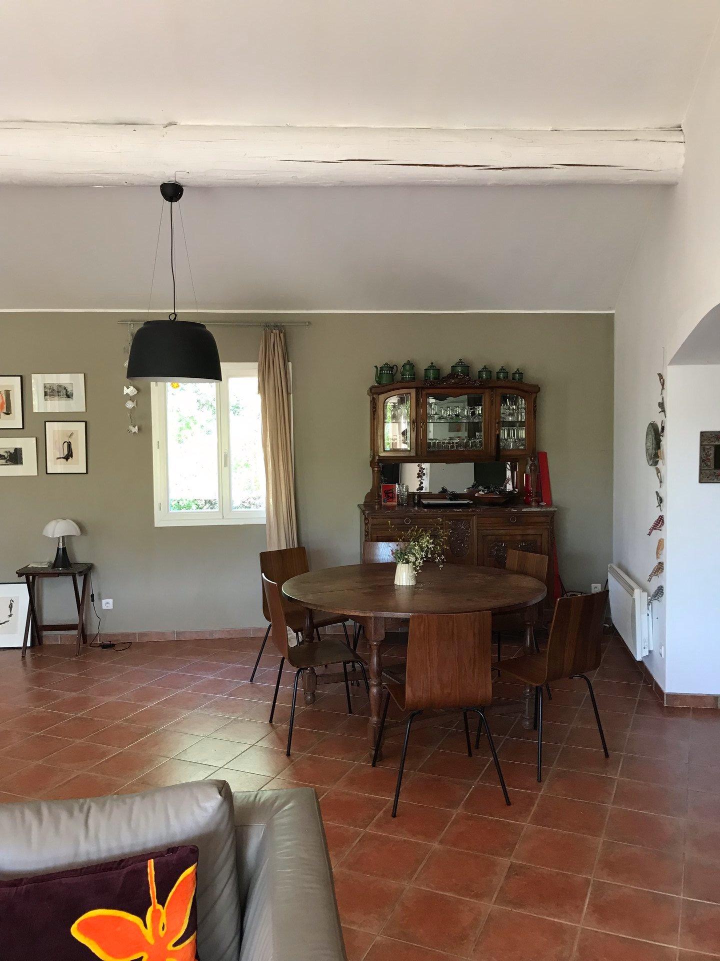 Villa contemporaine de plain-pied - 4 chambres - appartement indépendant -  très bel environnement piscine chauffée