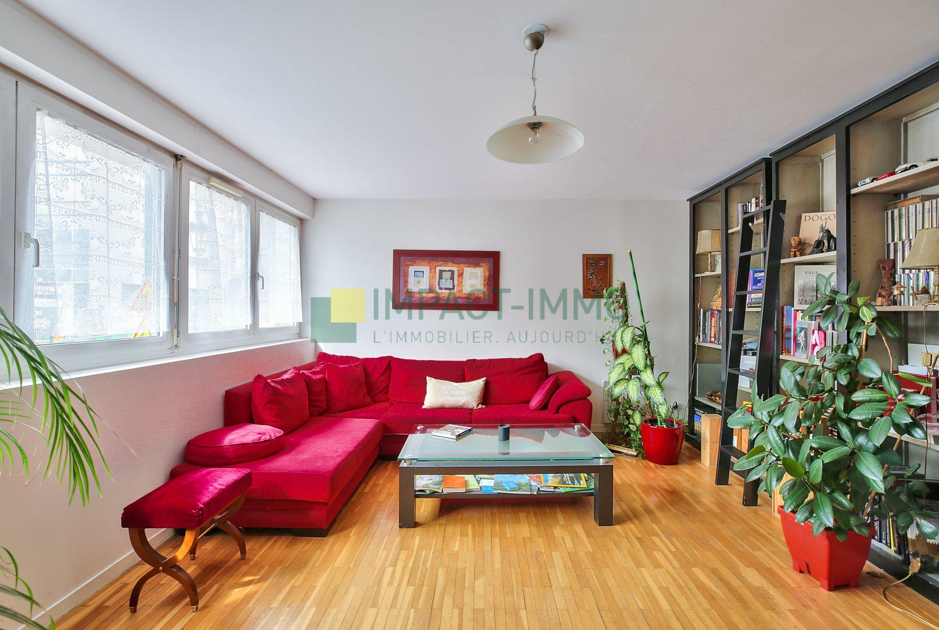 Nouveauté IMPACT IMMO : 3 pièces, 2 chambres, parking + cave