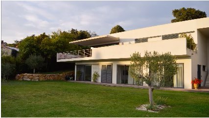 Contemporary Villa composed of two seperate Apartments Open View Antibes