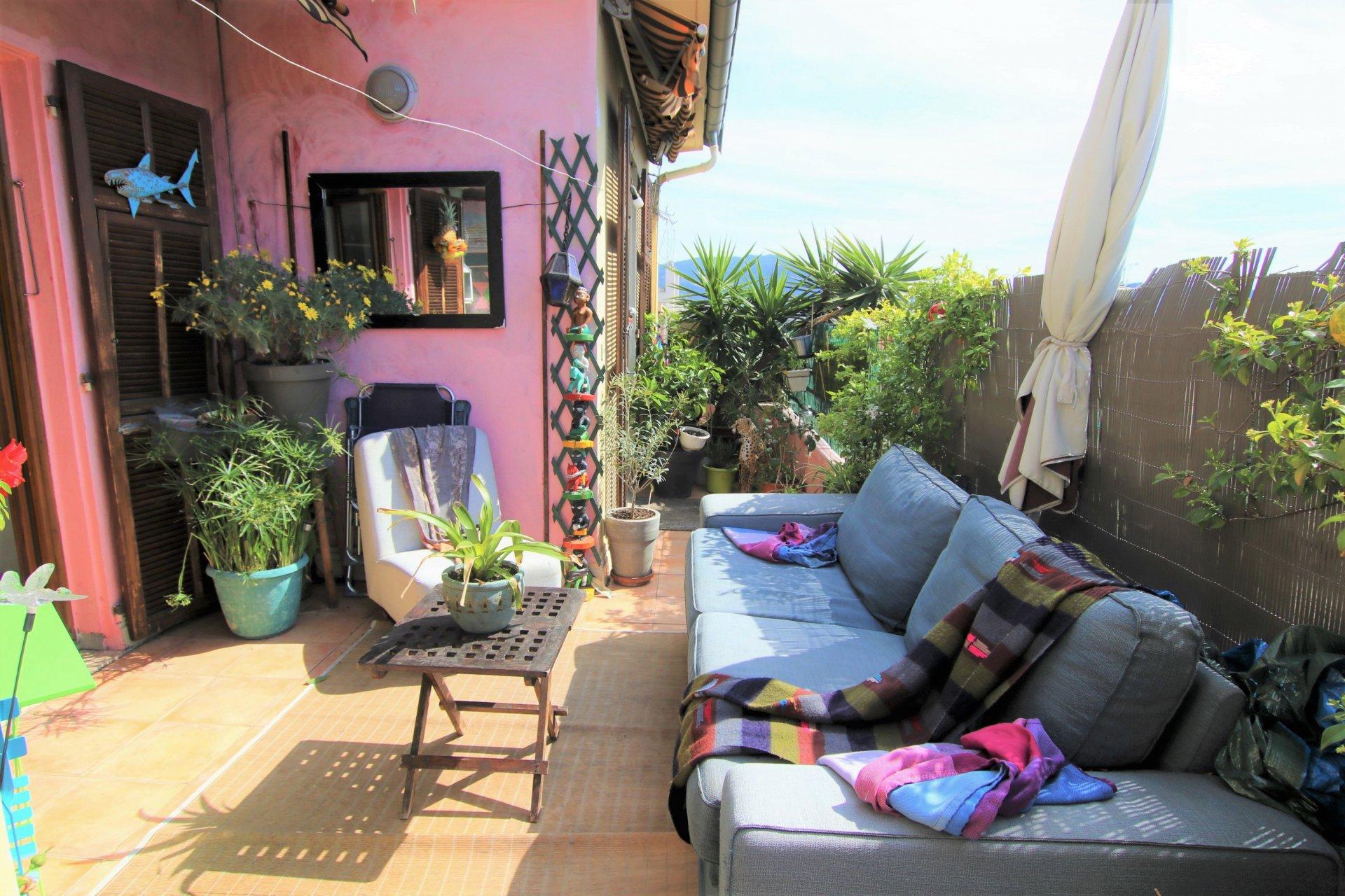 appartement avec terrasse Nice centre