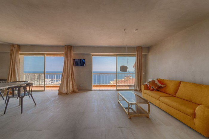 Cap d'Ail - 2BR apartment with panoramic sea view