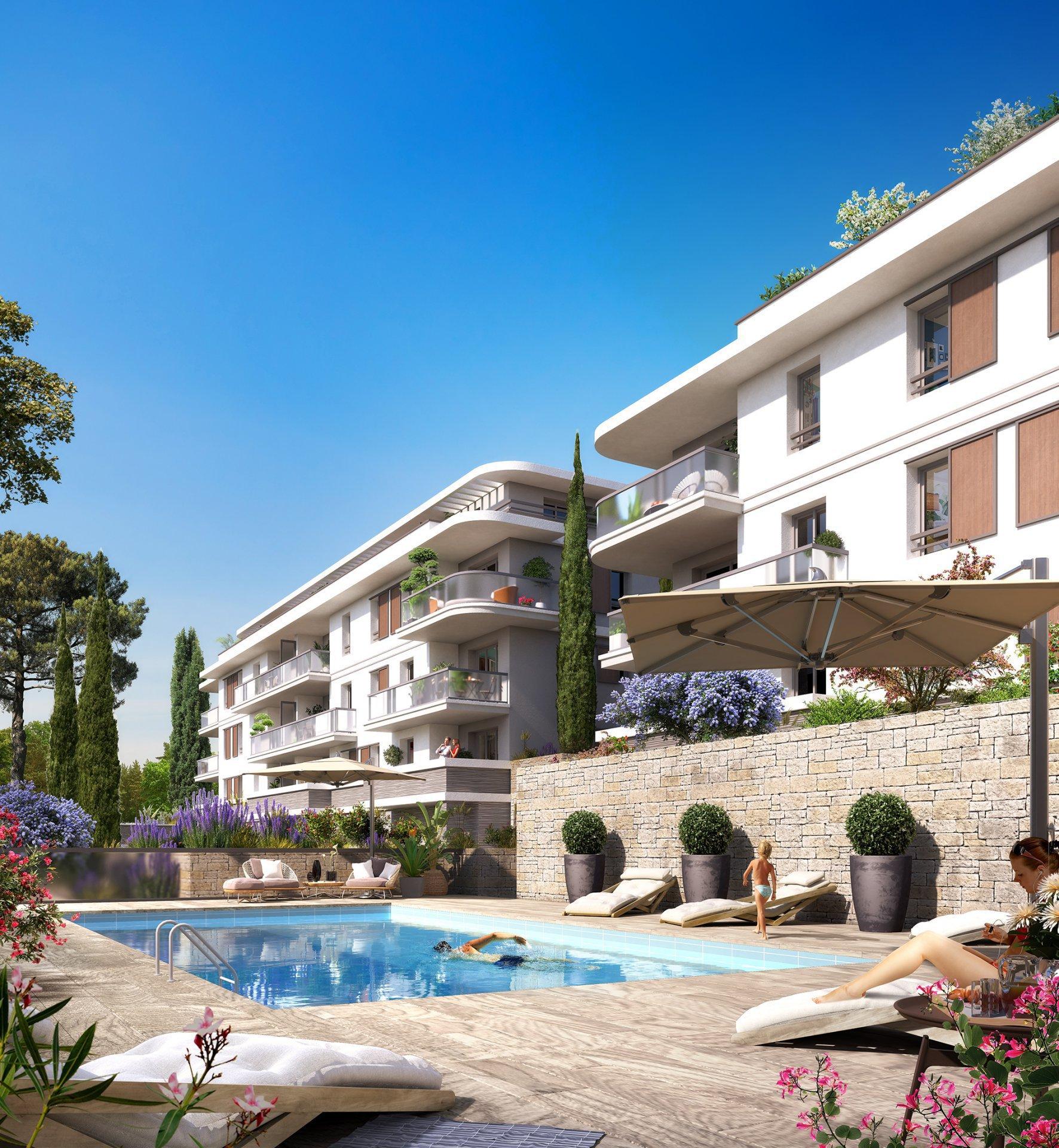 Mougins 4 Pièces avec 148 m² de terrasse