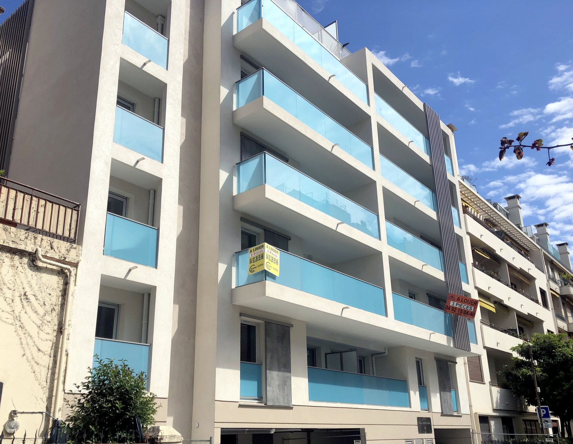 Location Nice, 3 pièces 66.7m² secteur Gambetta